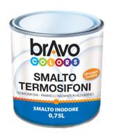 Smalto Per Termosifoni Bianco Satinato 0 , 75 ml Bravo Colors