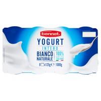 Yogurt Bianco Intero Bennet 8 Da Gr . 125