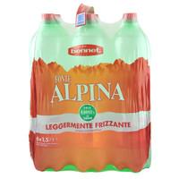 Acqua Leggermente Frizzante Bennet 6 Da L . 1 , 5