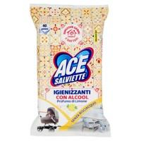 Salviette Igienizzanti Sgrassanti Per Superfici Ace , conf . Da Pz . 40