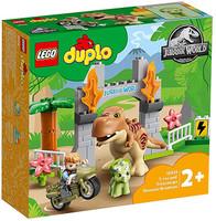 Fuga Del T Rex E Del Triceratopo Lego Duplo 2+