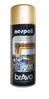 Spray Acrilico Brillante Oro Cromato Effetto Metallo Nespoli Ml . 400