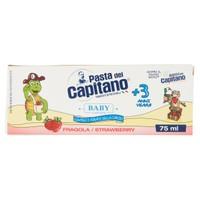 Dentifricio Baby + 3 Fragola Pasta Del Capitano