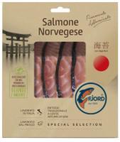Salmone Norvegese Affumicato Con Alga Nori Fjord