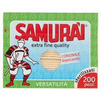 Stuzzicadenti Tondi Samurai