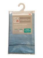 Federa Raso Tinta Unita Cm 50 x 80 Azzurro Casa Premium