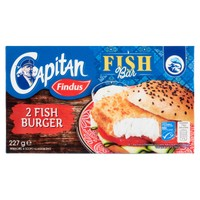 Fish Burger Capitan Findus