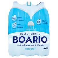 Acqua Naturale Boario 6 Da L . 1 , 5