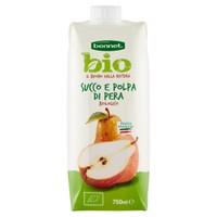 Succo E Polpa Di Pera Biologico Frutta 50 % Minimo Bennet Bio