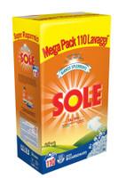 Detersivo Per Lavatrice In Polvere Sole , Conf . Da 110 Misurini