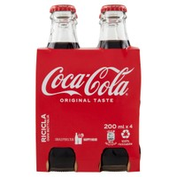 Coca Cola 4 Da Ml . 200