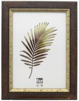 Cornice Crilex Colbert Noce Filo Oro Far Cm.30x40