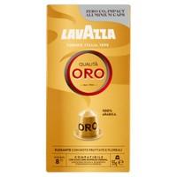 Capsule Caffe' Qualita' Oro Lavazza, Compatibili Nespresso, Conf.Da 10