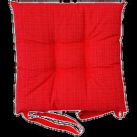 Cuscino Sedia Tessuto Stampato Cm 40 x 40 Rosso