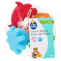 Gioco Bagno Set Amici Del Mare 0 m + Neo Baby