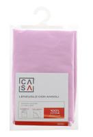Lenzuolo Angoli Tinta Unita 1 piazza 1 / 2 Cm 130 x 200 Rosa Casa