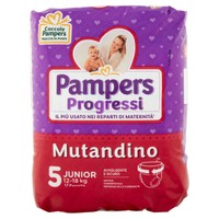 Pannolini Pampers Progressi Mutandino Junior Conf . Da 17