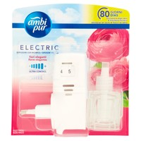 Deodorante Ambiente Elettrico + Ricarica Flower Ambi Pur
