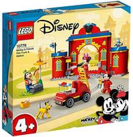 Autopompa E Caserma Di Topolino E I Suoi Amici Lego Disney 4+
