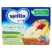 Fruttapura Mela/Banana Frutta Grattugiata 4 Da Gr.100