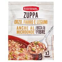 Zuppa D ' orzo , Farro E Legumi Bennet