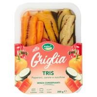 Tris Peperoni Zucchine Carote In Vaschetta