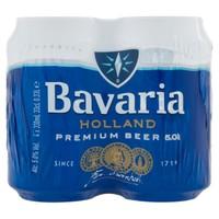 Birra Bavaria Premium 4 Lattine Da Cl . 33