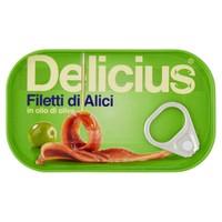 Filetti Di Alici In Olio D ' oliva Delicius