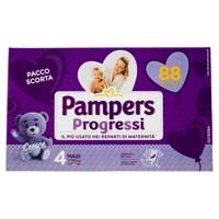 Pannolini Progressi Maxi Pampers Quadripack