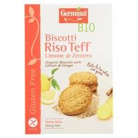 Biscotti Riso Teff Limone E Zenzero Senza Glutine Bio Germinal