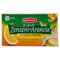 Te ' Verde Zenzero Arancia Bennet 25 Filtri
