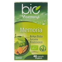 Memoria Bio & vegan Vitarmonyl 40 Capsule