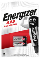2 Pile A23/E23a Alkaline Energizer