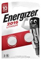 2 Pile Cr 2016 Lithium Energizer