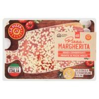 Pizza Margherita Con Mozzarella A Cubetti 20x30