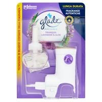 Deodorante Ambiente Elettrico Essential Oils Lavanda Glade Base + ricari