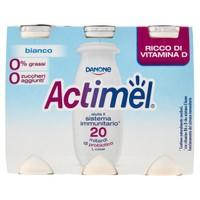 Actimel Danone Bianco Magro 6 Da Ml . 100