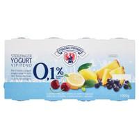 Yogurt Magro Ciliegia Limone Mirtillo Ananas Vipiteno Conf . da 8