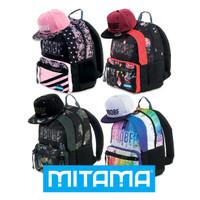Zaino Unlimited Girl Mitama Grafiche Assortite Con Cappellino In Regalo