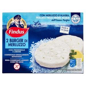 BURGER MERLUZZO FINDUS