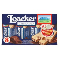 Wafer Cream / milk X 8 Loacker
