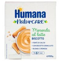 Merenda Al Latte Gusto Biscotto Humana