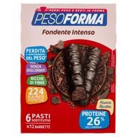 Barrette Al Cioccolato Fondente Intenso Pesoforma