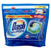 Detersivo Lavatrice Allin1pods Capsule Classico Dash, 54 Lavaggi