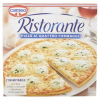 Pizza 4 Formaggi Ristorante Cameo