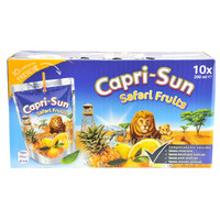 Capri Sun Safari 10 Da Ml . 200 Cad .