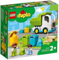 Camion Della Spazzatura E Riciclaggio Lego Duplo 2+