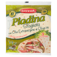 Piadina Bennet All ' olio Extra Vergine