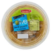Olive Verdi Giganti In Salamoia Bennet