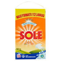 Detersivo In Polvere Per Lavatrice Sole 112 Misurini